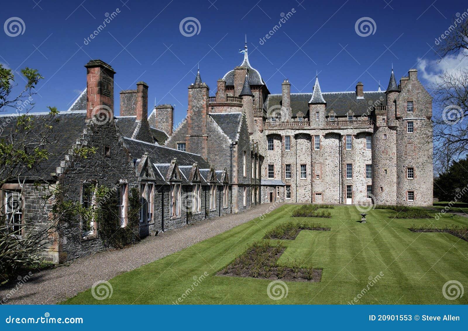 Scotland grodowy thirlestane