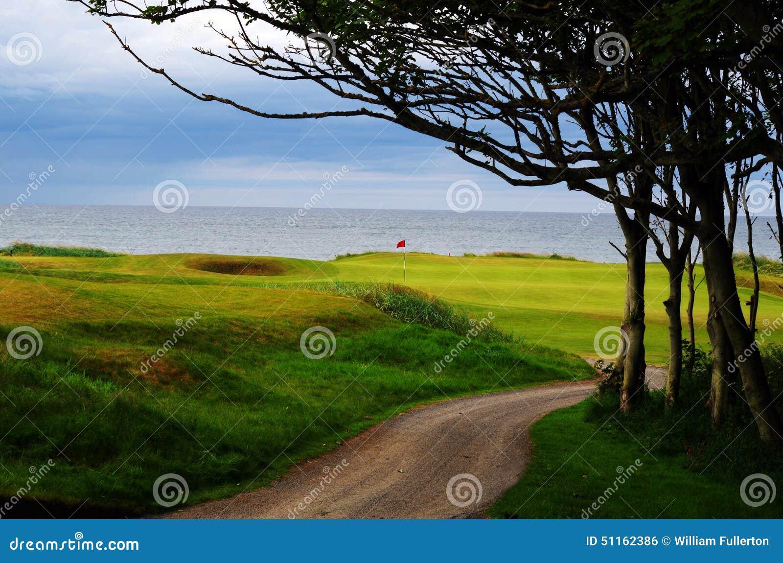 Scotland Links Style Golf Course