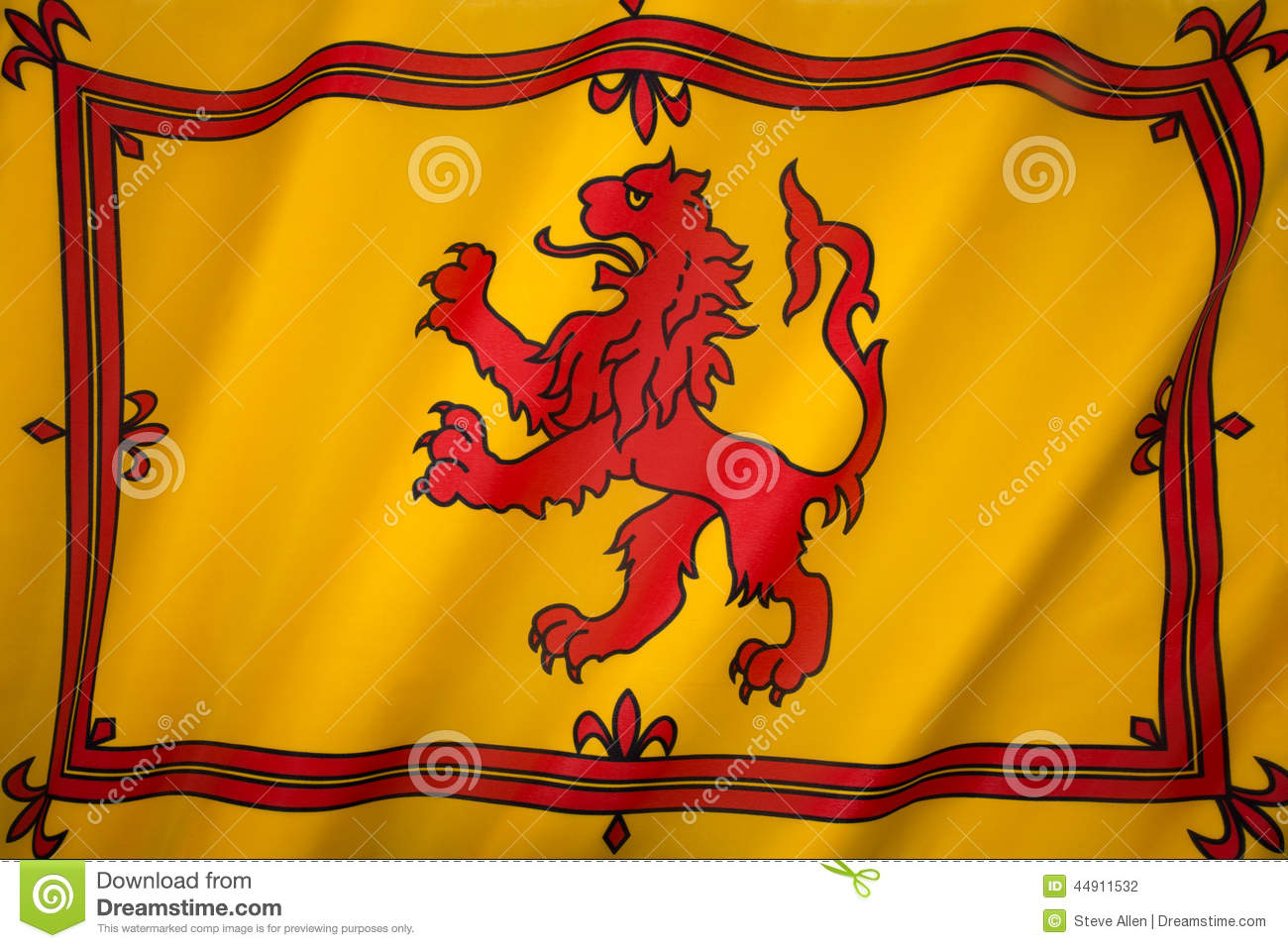 Scotland - Lion Rampant Flag - Scottish Royal Standard