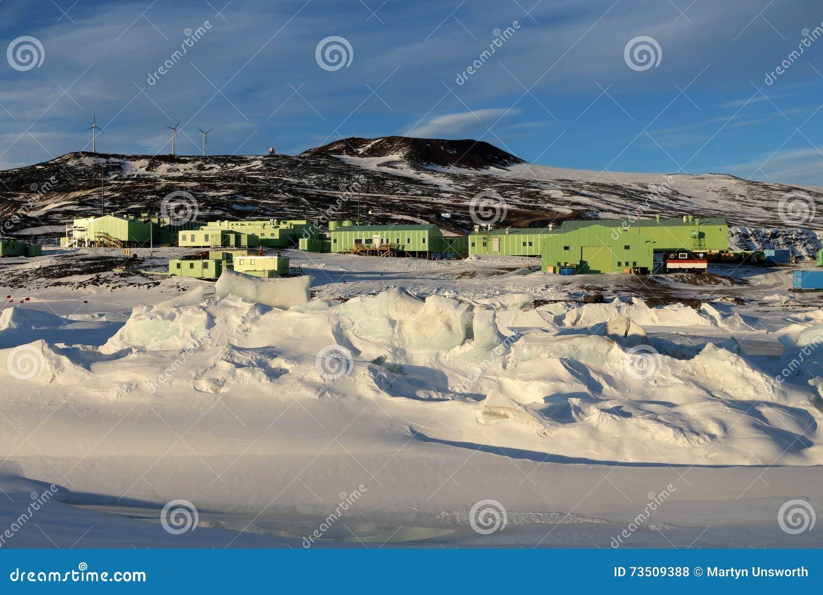 Scott baza, Ross wyspa, Antarctica