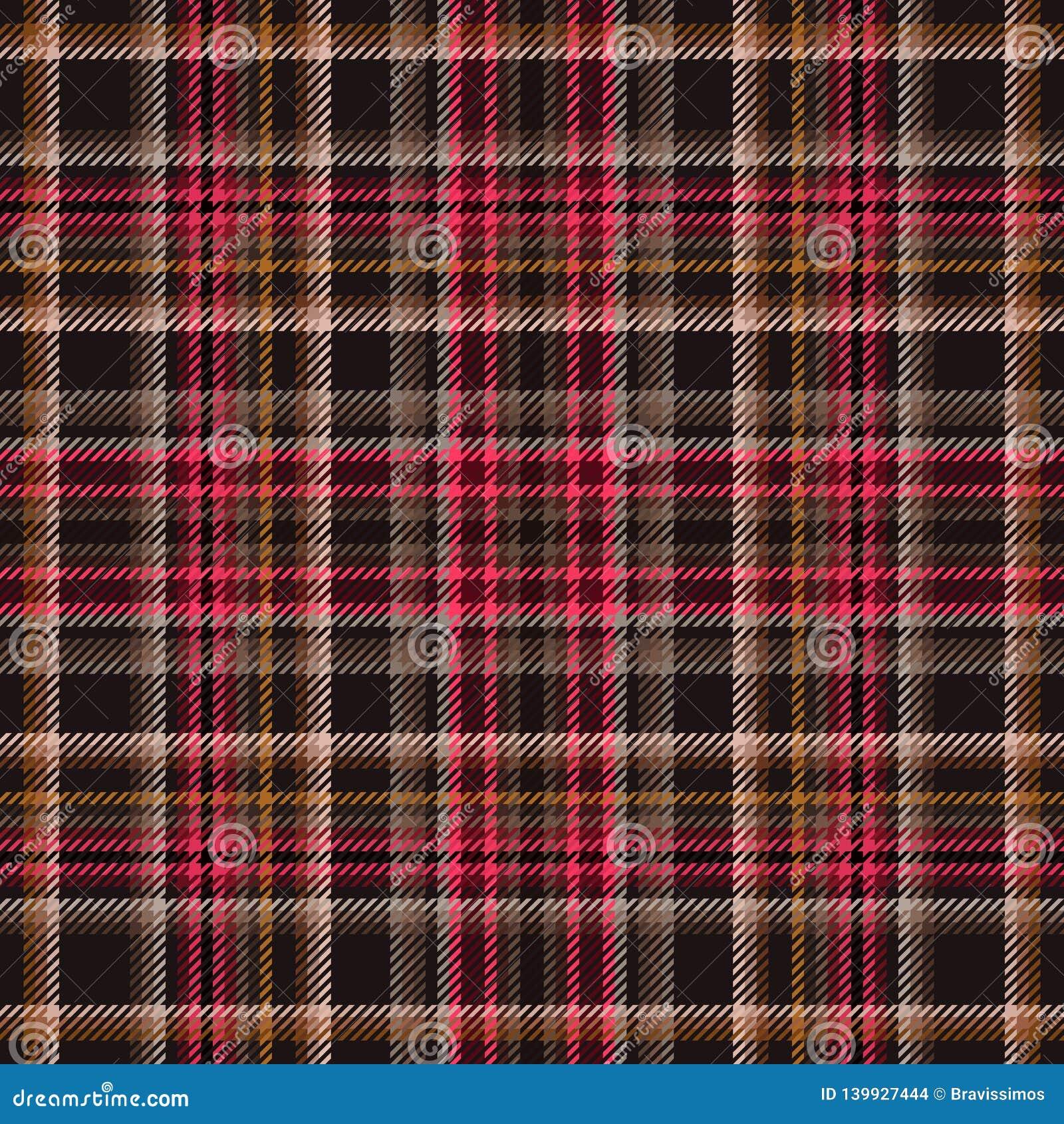 Scottish Fabric Pattern And Plaid Tartan, Stripe Check Stock
