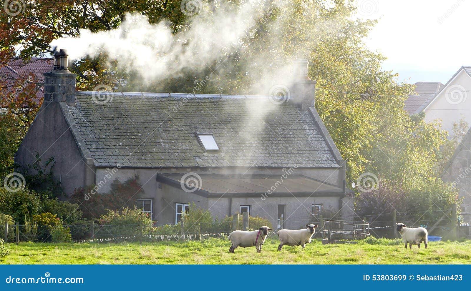 Scottish Farm House
