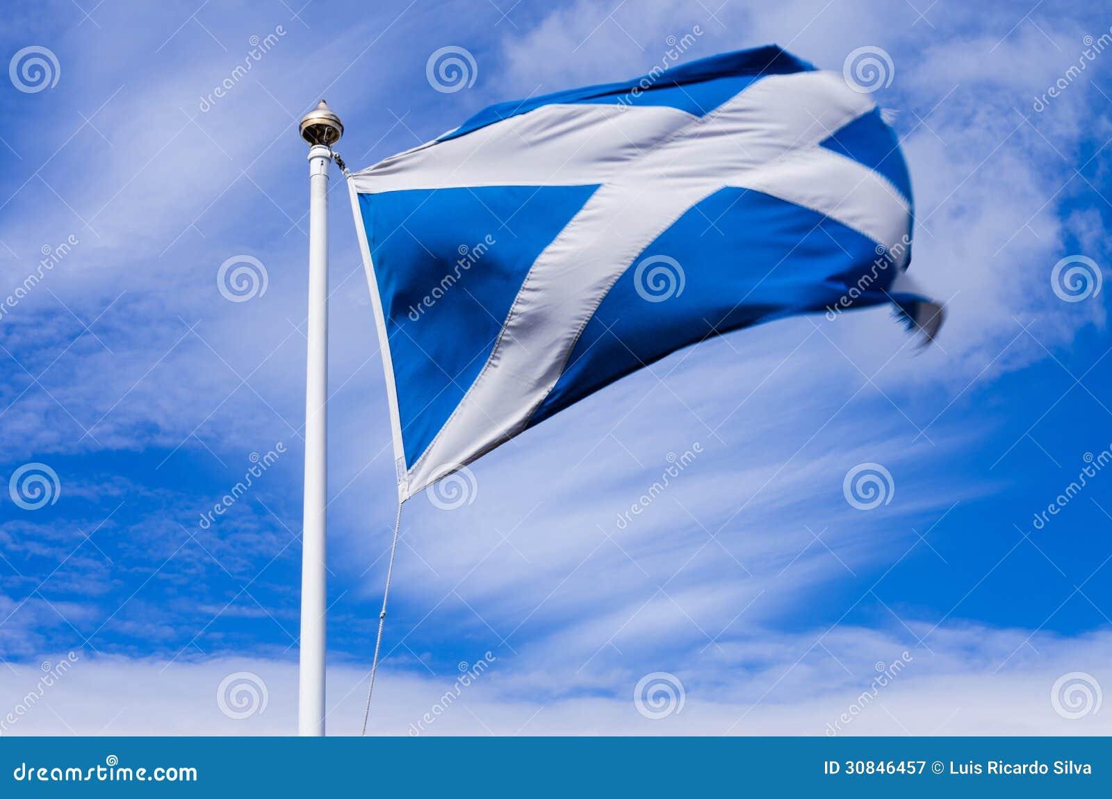 scottish flag royalty free stock photography image 30846457
