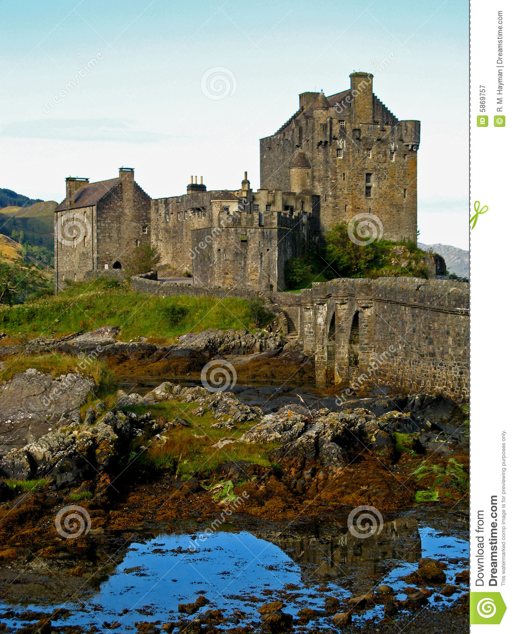 Scottish highland castle 08 royalty free stock photography for Scottish highland castle house plans