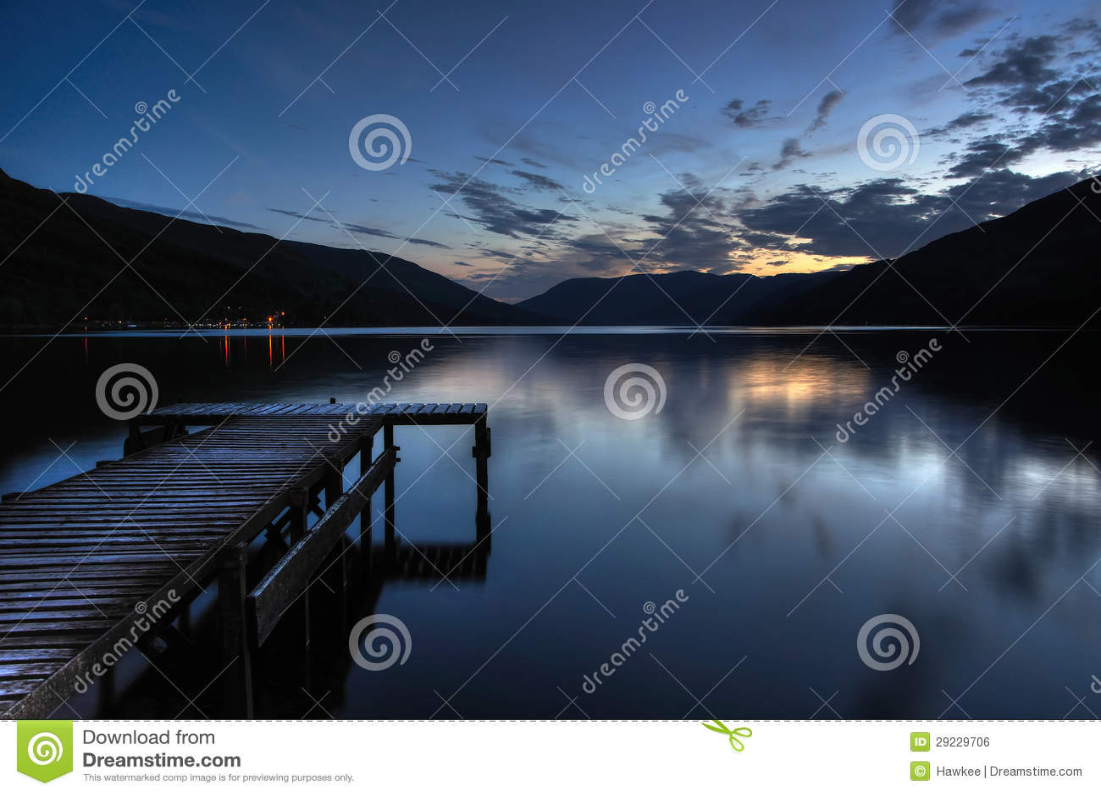 Scottish Loch Trossachs Royalty-Free Stock Photo | CartoonDealer.com ...