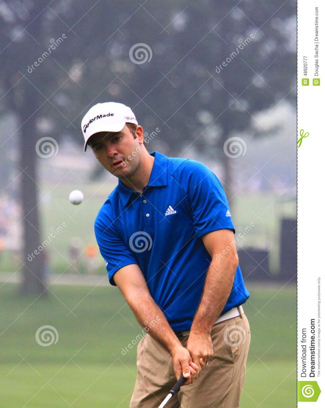 Scottish Pro Golfer Martin Laird Editorial Photography ... Golf Ball On Tee Clipart
