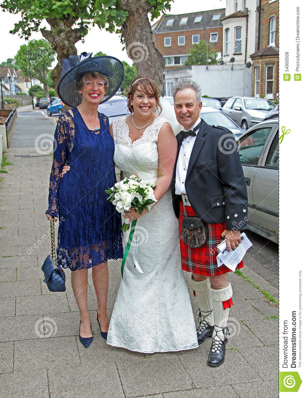 Scottish wedding editorial stock photo. Image of happy - 54900508