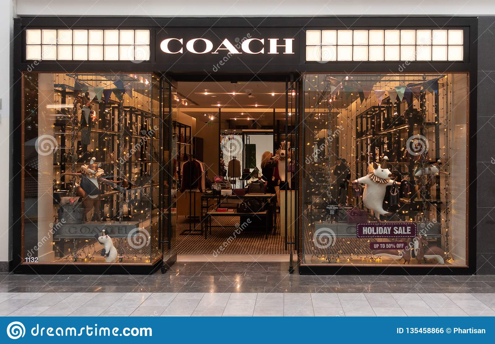f62ae531d1 Scottsdale,Az/USA - 12.6.18:Coach owned by Tapestry, Inc. was founded in  1941 in NYC., known for women`s apparels and accessories which include  handbags, ...