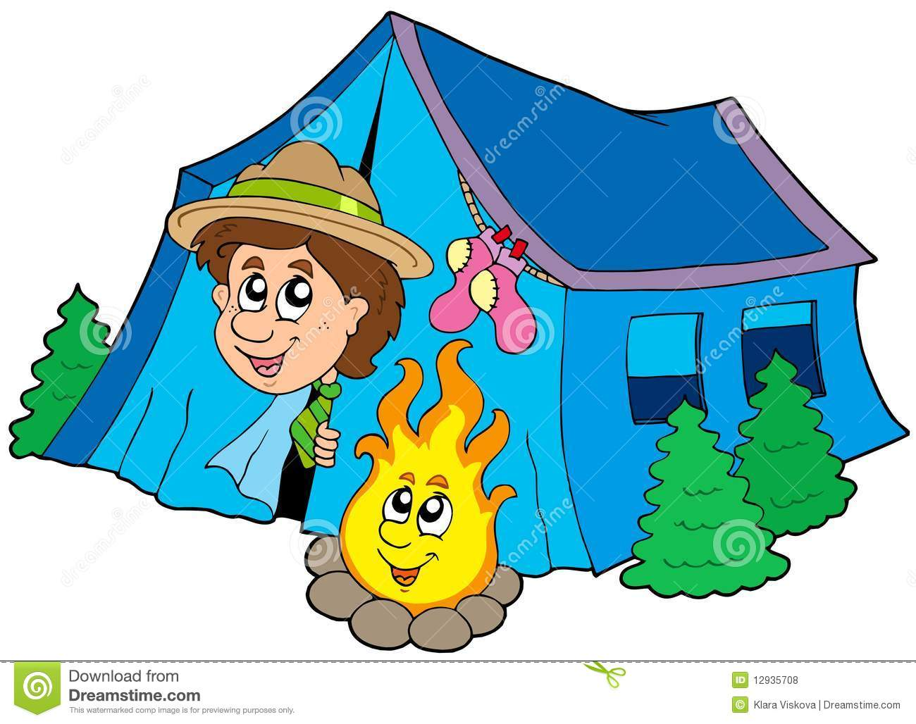 scout camping in tent stock vector image of childhood campfire clip art border campfire clip art border