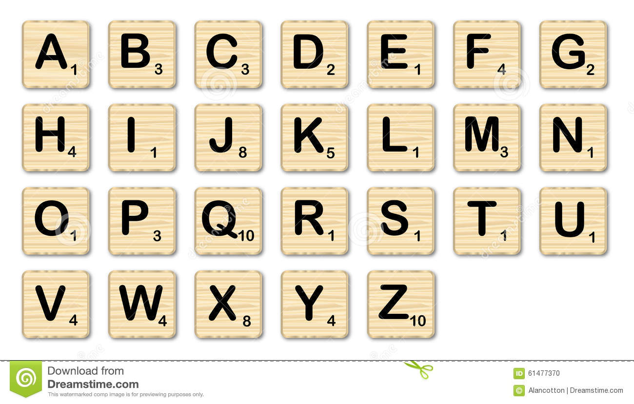 scrabble stock illustration image 61477370. Black Bedroom Furniture Sets. Home Design Ideas