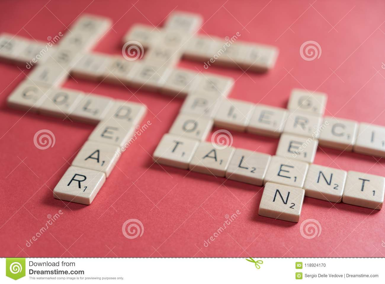 Scrabble play stock photo  Image of letter, blank, concept