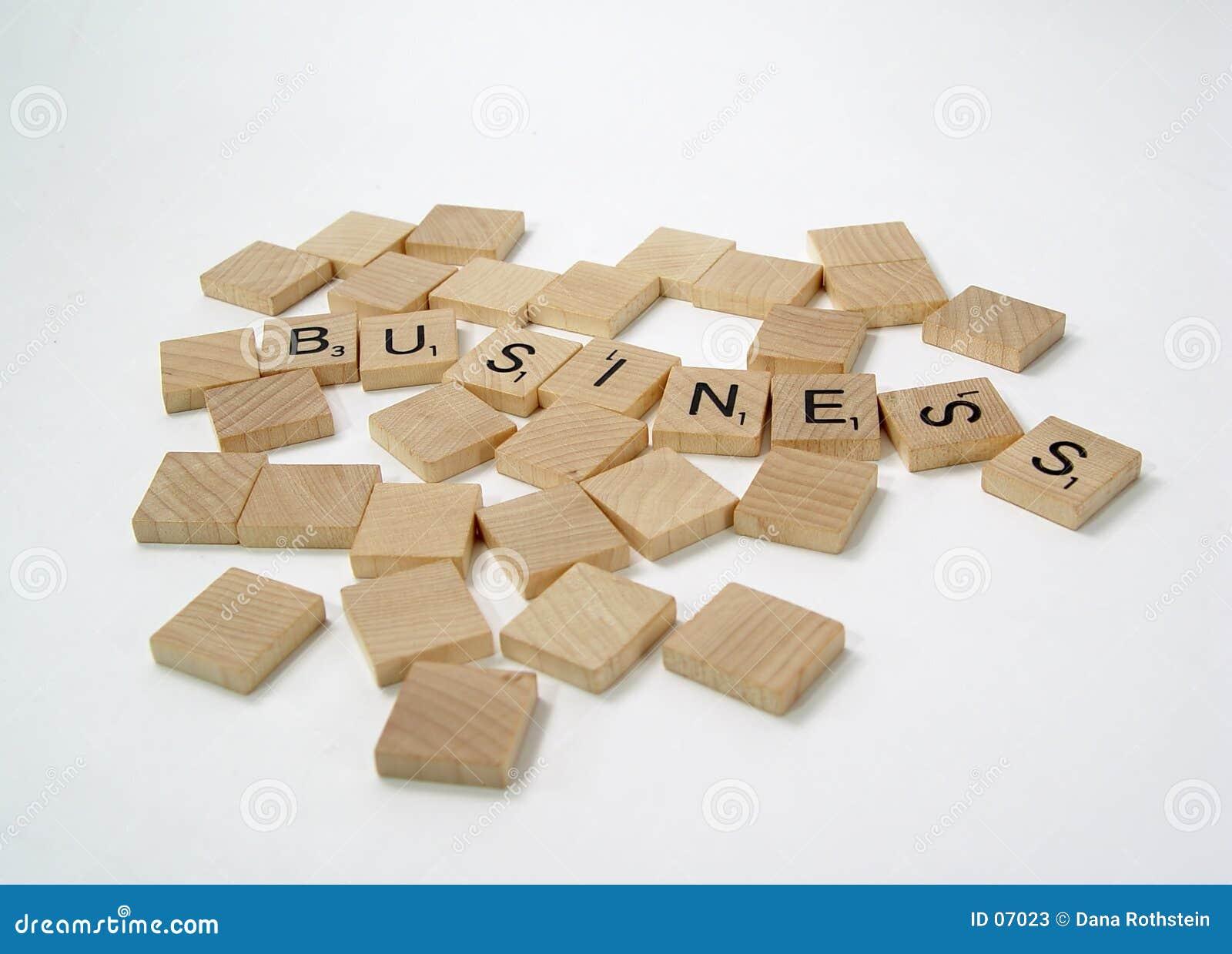 Scrabble-Zeichen