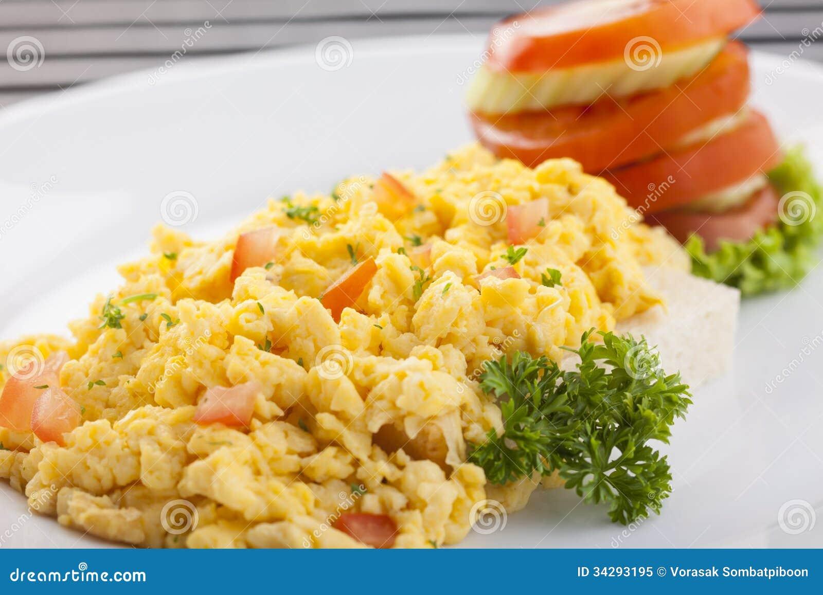 Scramble Egg Royalty Free Stock Photo - Image: 34293195