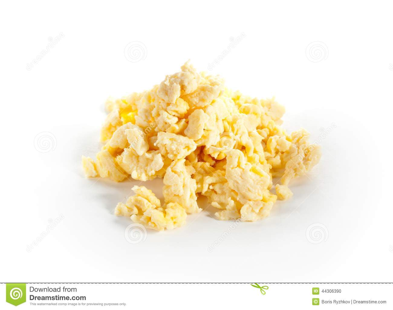 Download Scrambled Eggs Stock Photo Image Of Cooked Brunch Ingredient