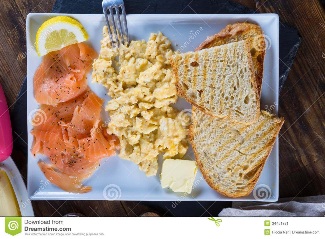 how to cook salmon for breakfast