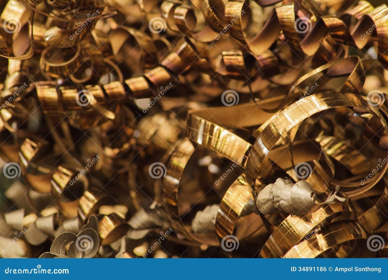 Scrap Metal of CNC Machine