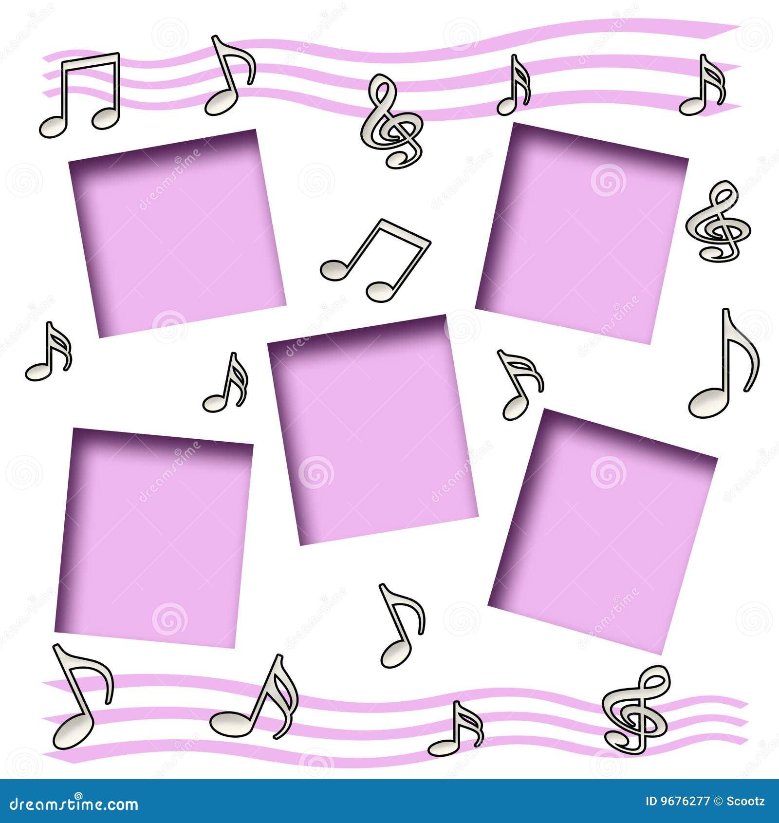 Scrapbook da música