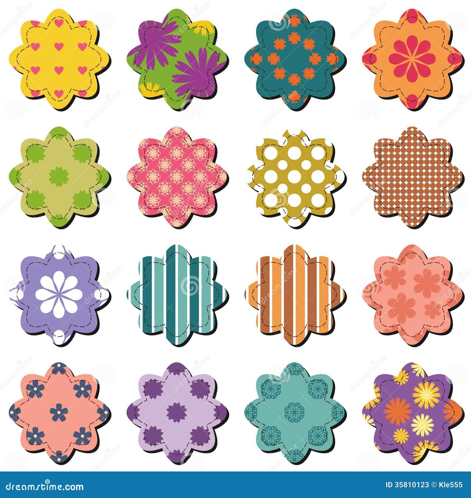 free scrapbook flower clipart-#28