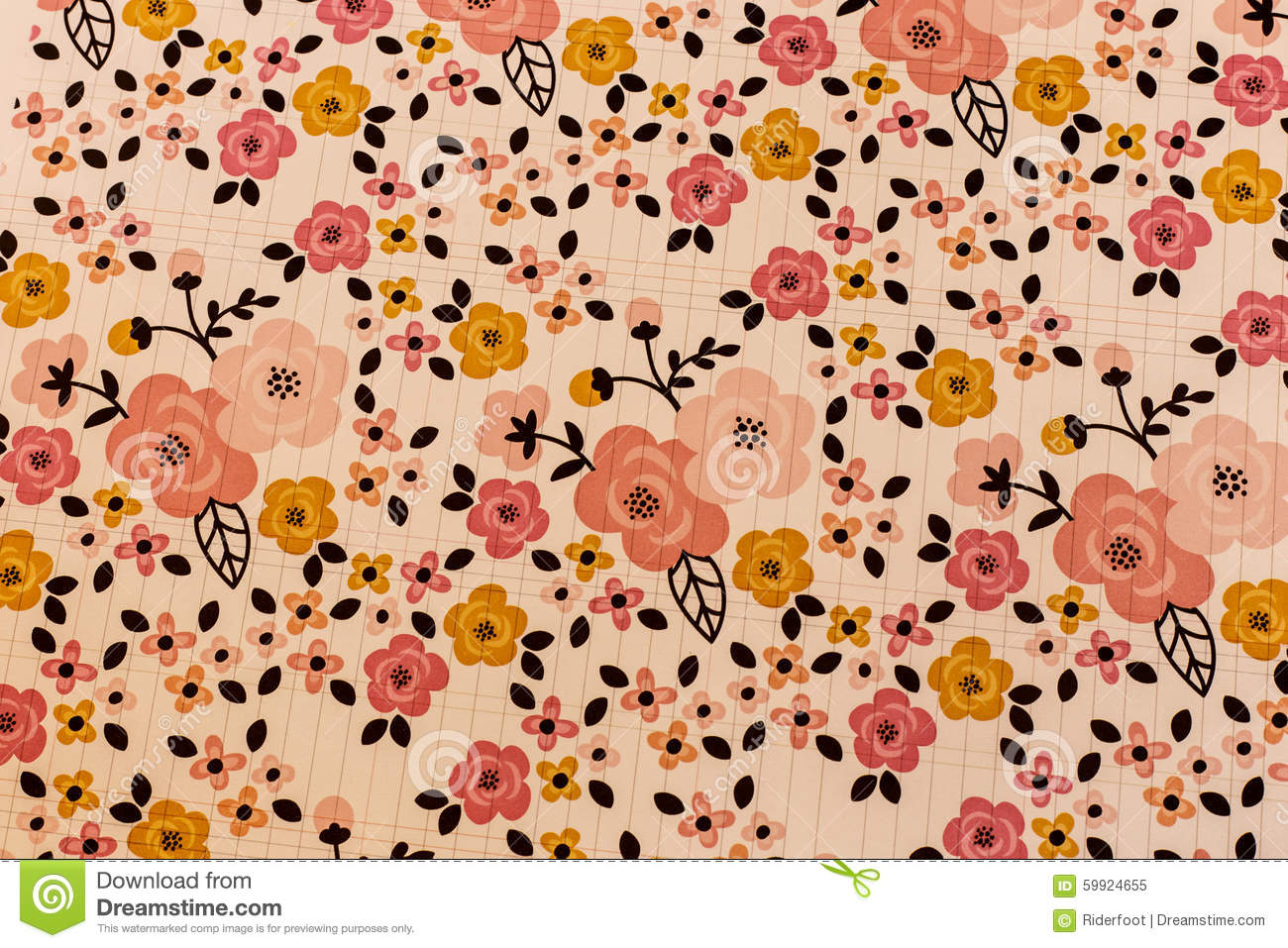 Scrapbook paper as wallpaper - Background Flowers Paper Pattern Scrapbook Wallpaper