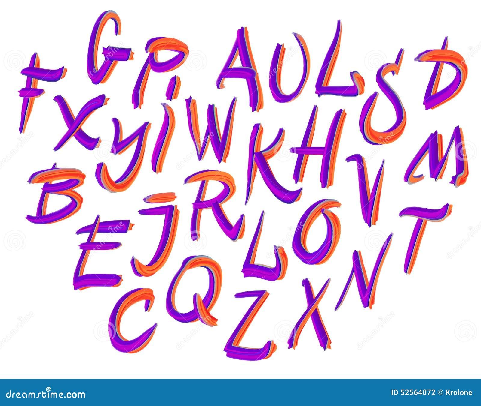 Scrapbooking向量的字母表要素 拉长的现有量信函 信件
