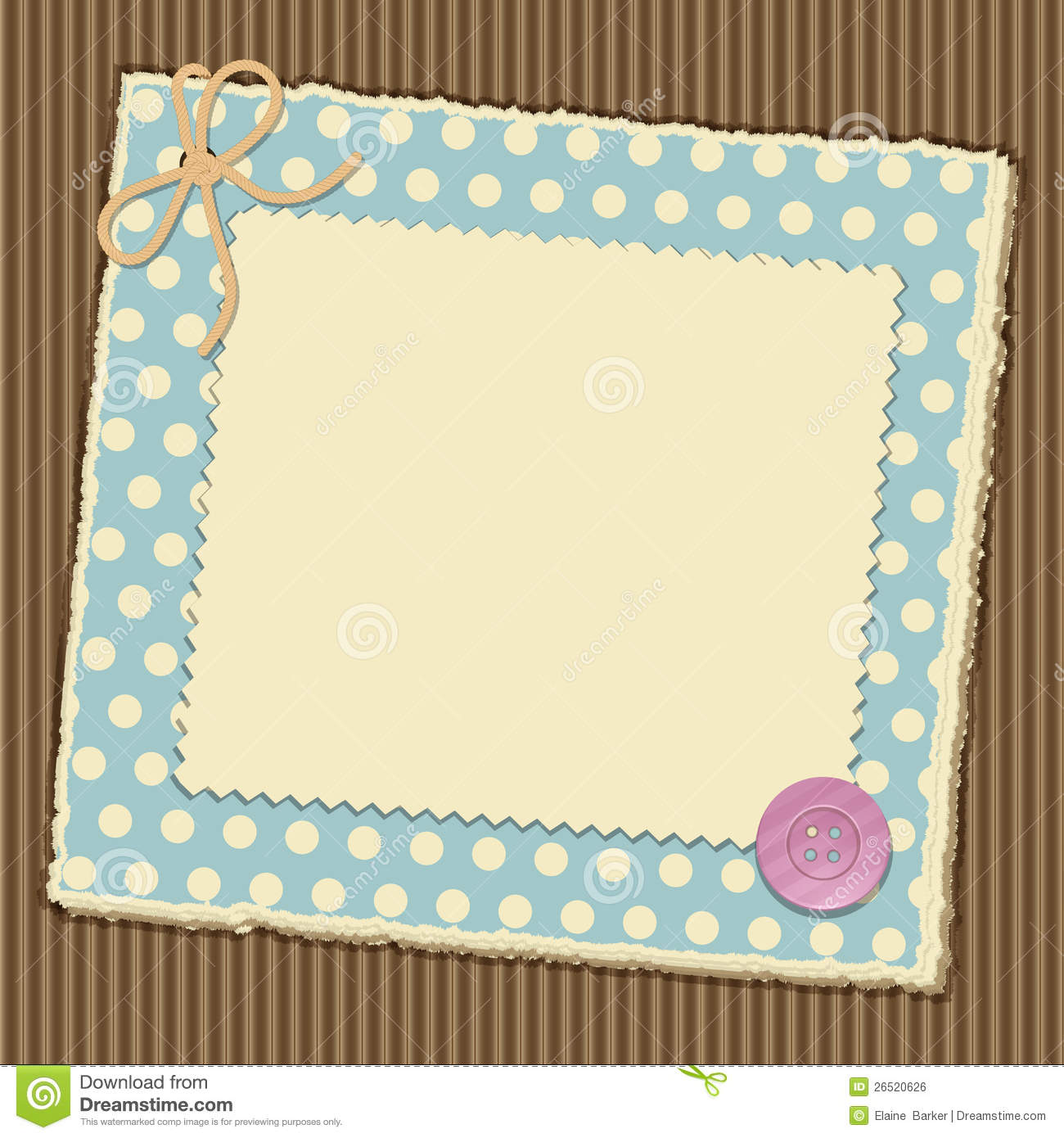 Scrapbooking Layout Royalty Free Stock Image - Image: 26520626