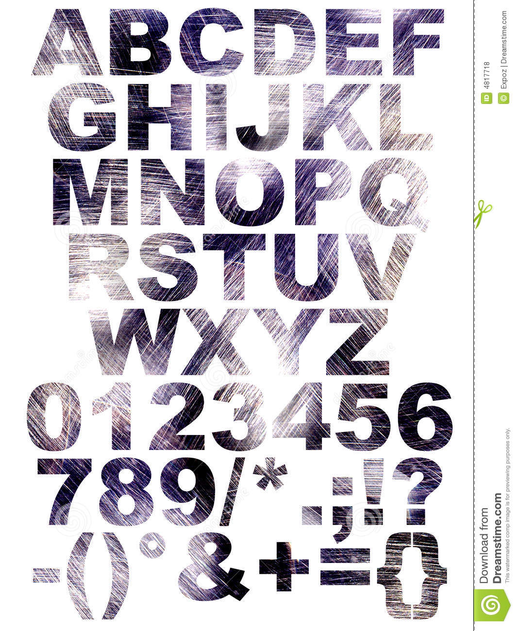 scratch font stock illustration illustration of design