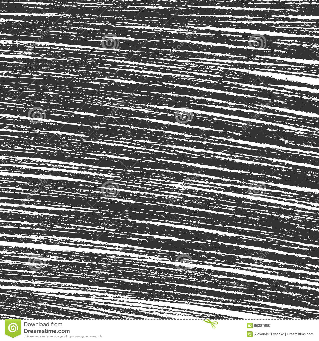 Scratch sketch grunge black and white texture abstract line vector illustration