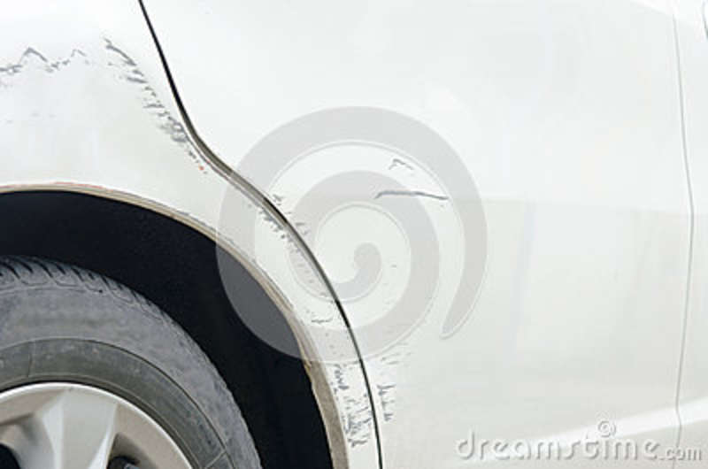 scratched door paint on a car royalty free stock photo 45023379. Black Bedroom Furniture Sets. Home Design Ideas