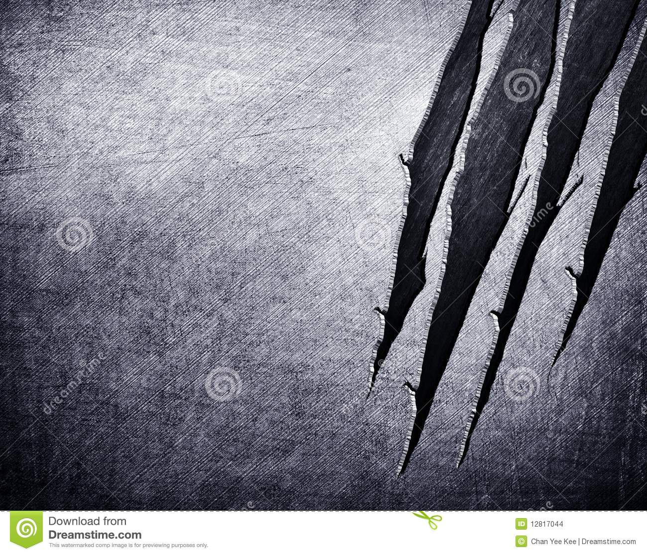 Scratched Metal Background Stock Illustration Image Of