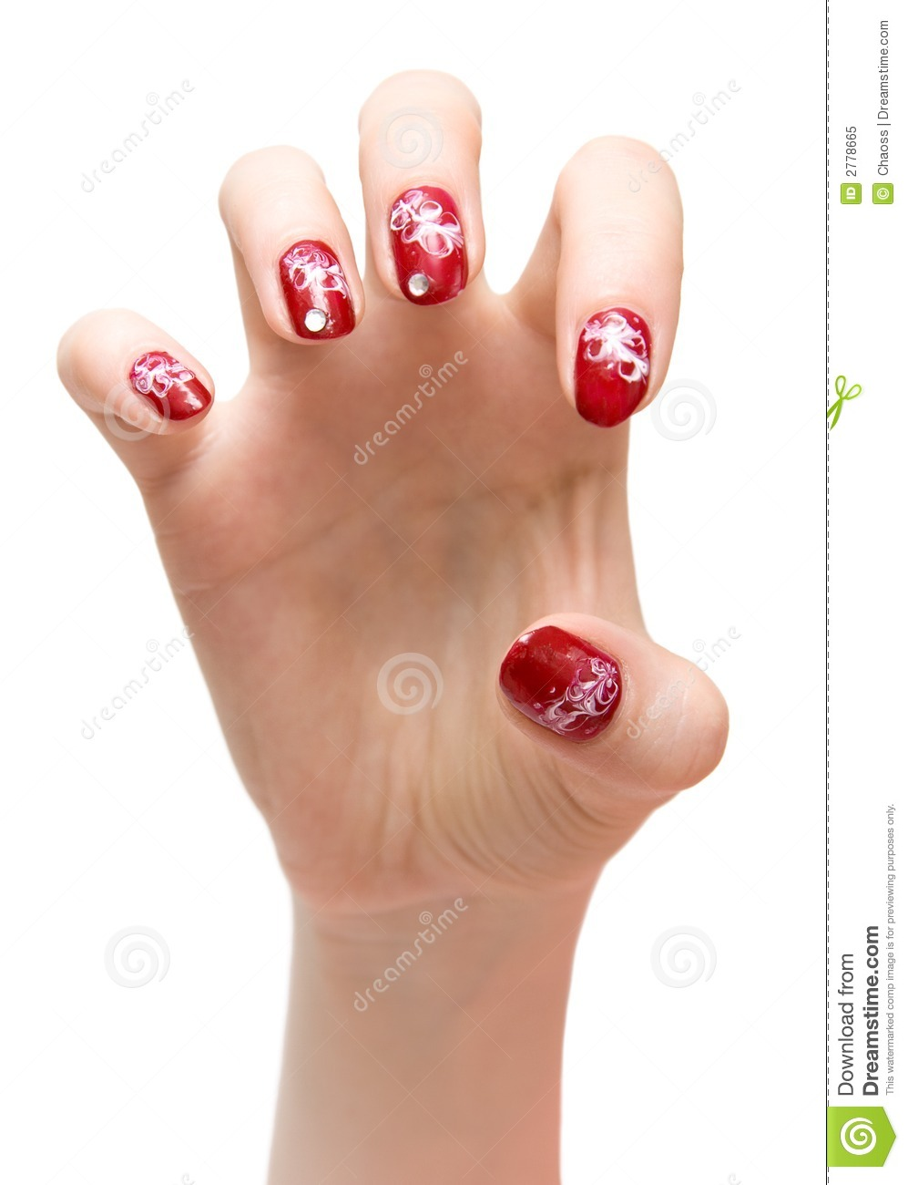 Scratching woman hand stock image. Image of female ...