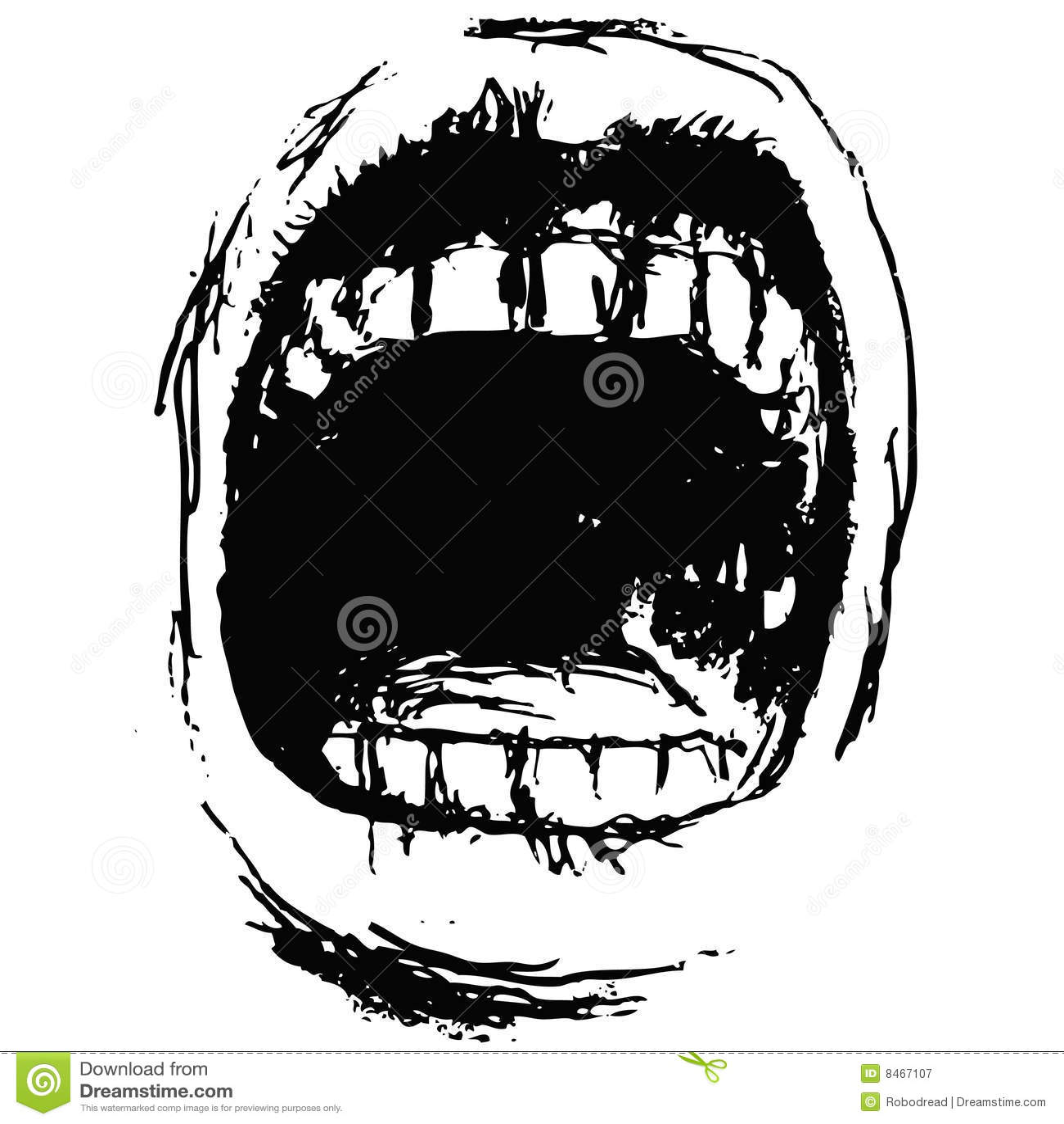Scream  vector  Royalt...