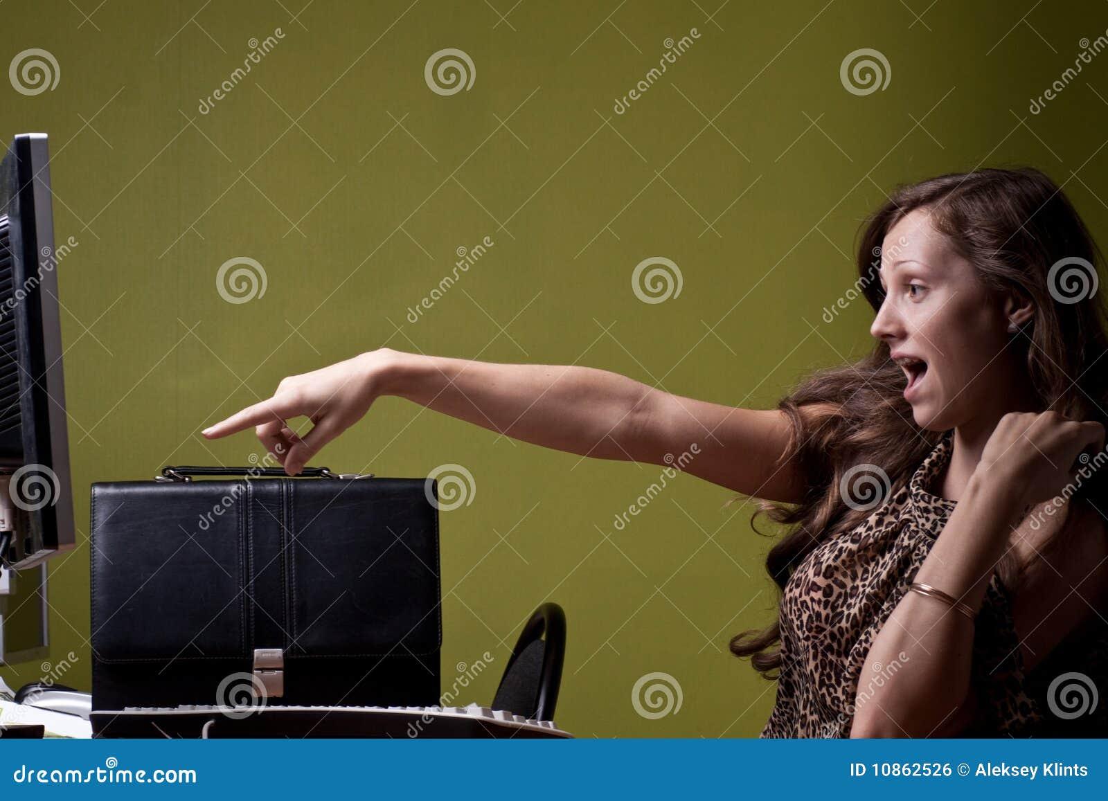 secretary screaming