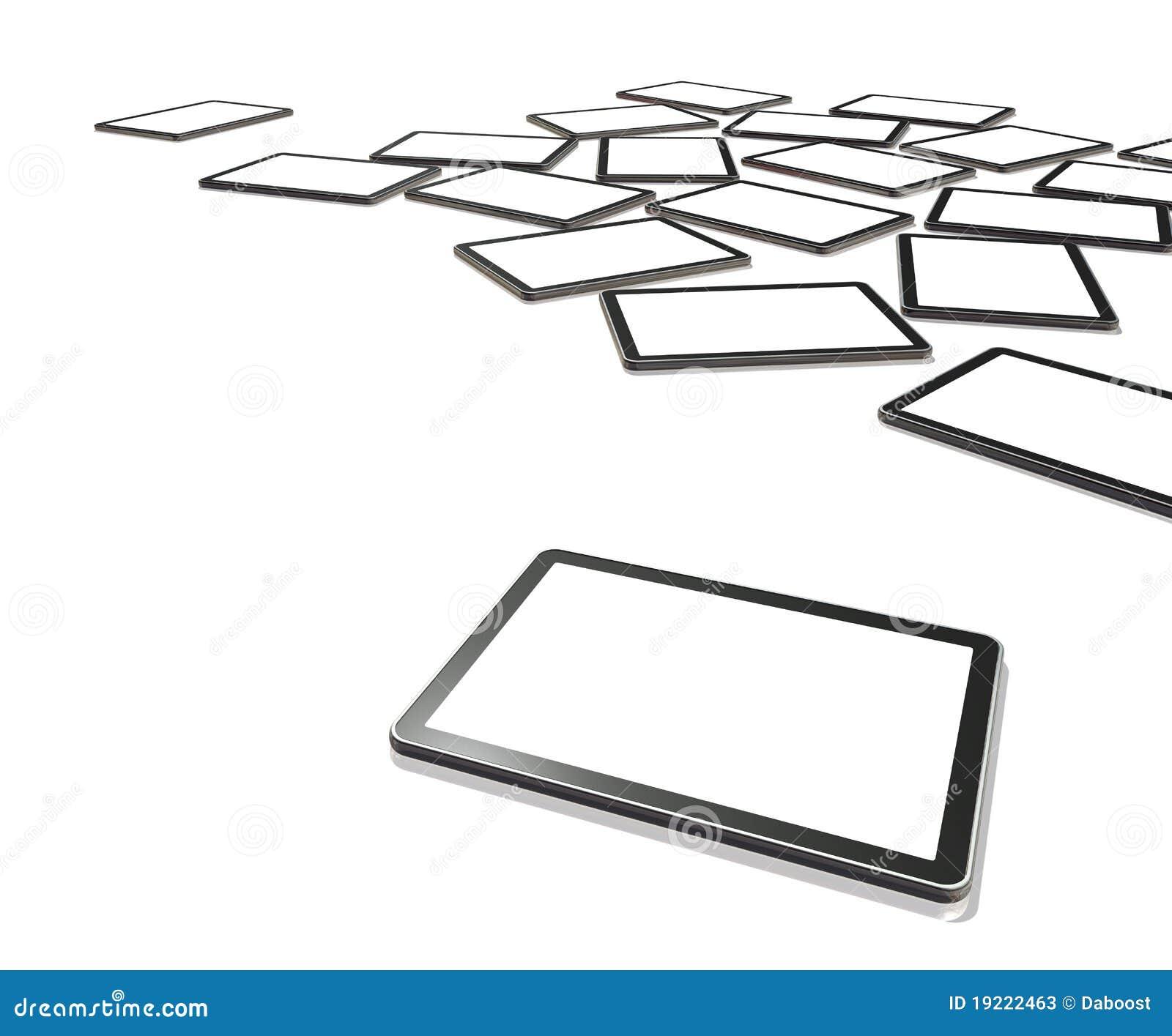 Screens den digitala PCen 3d tablettv:n