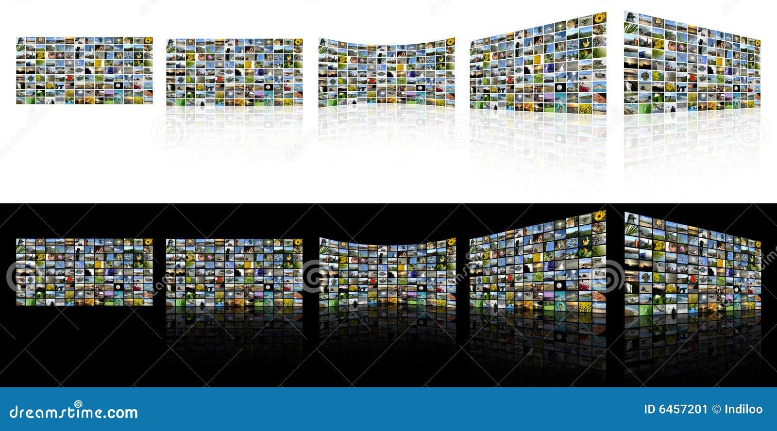 Screens tv:n