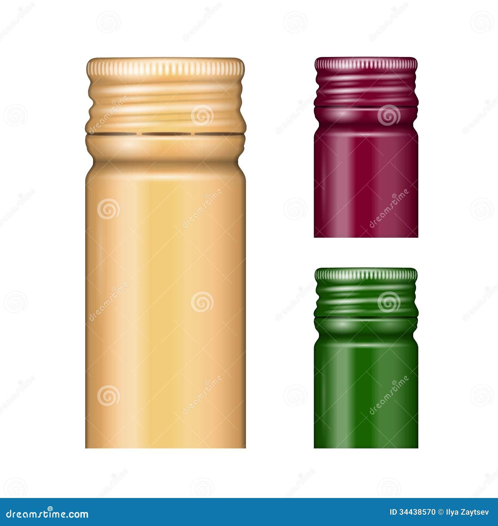 Bottle Caps Stock Photo Image 34438570