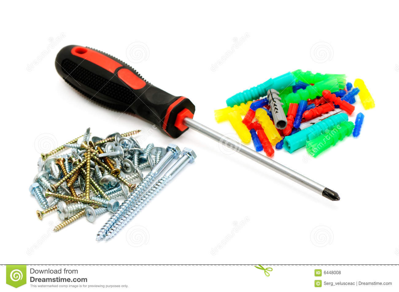 Screw-driver and screws