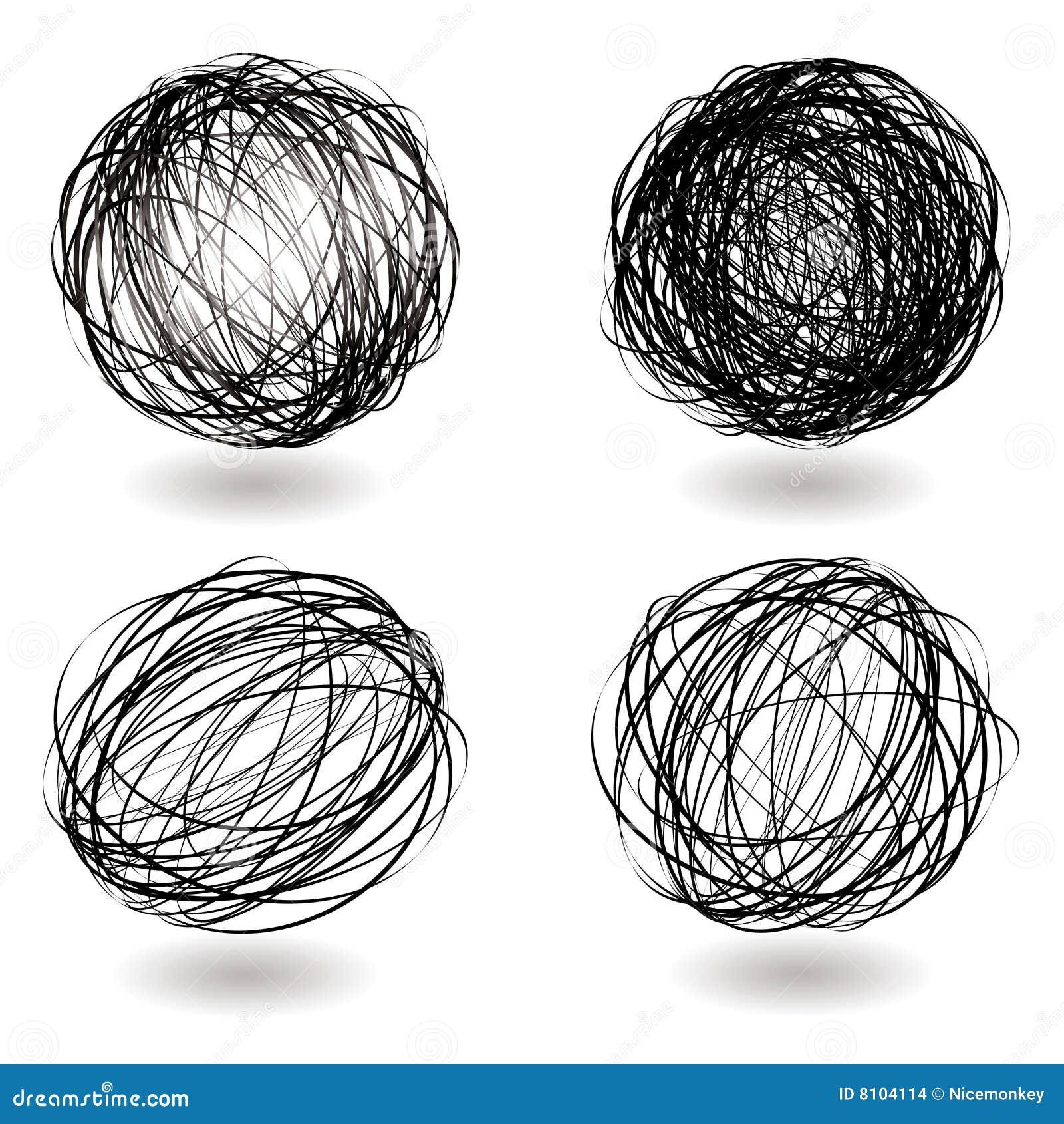Scribble nest variation