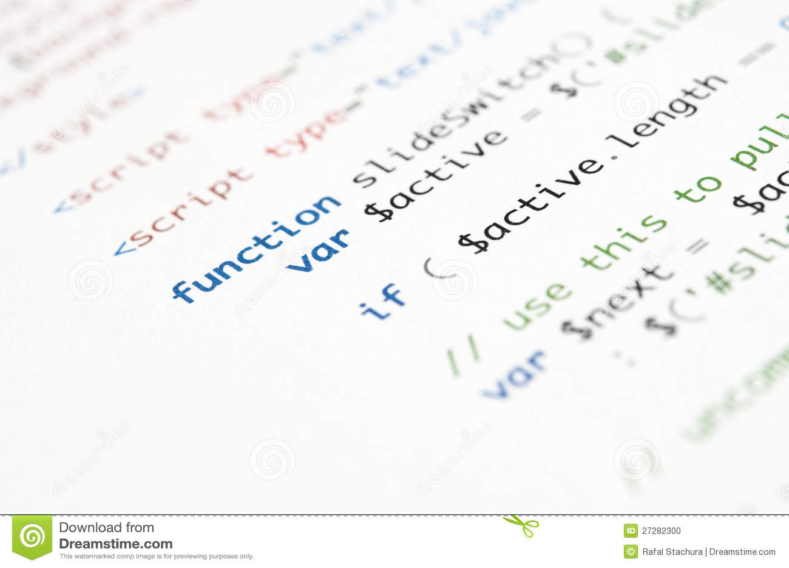 Scritto del HTML