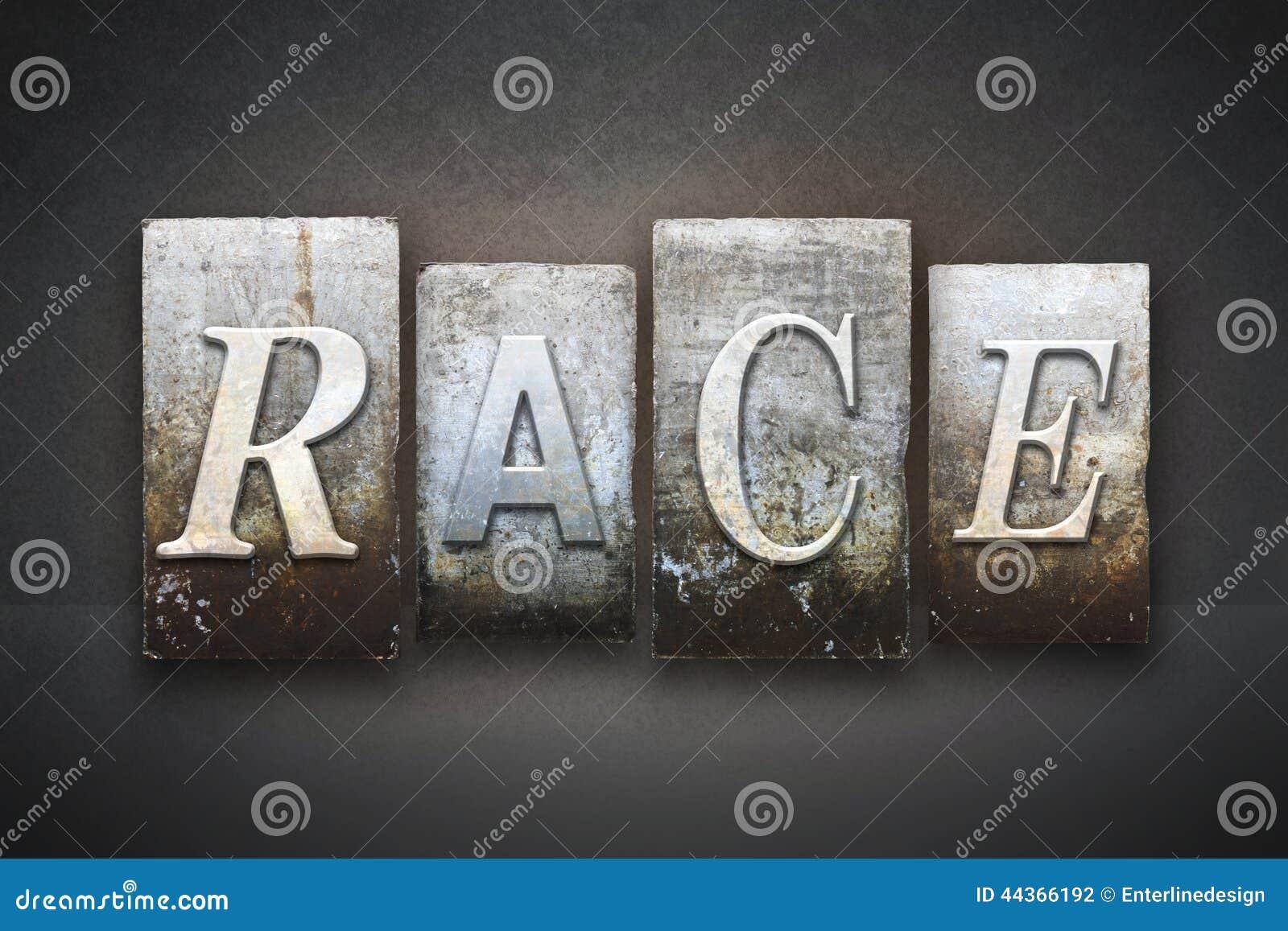 Scritto tipografico della corsa