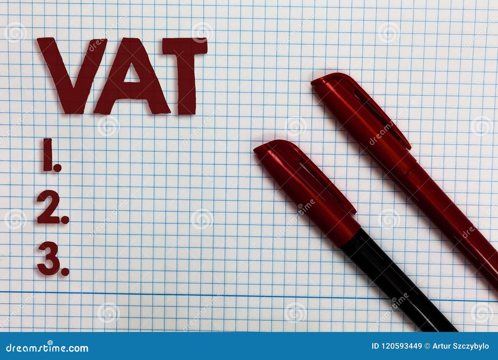 Scrittura concettuale della mano che mostra tino Foto di affari che montra imposta sui consumi imposta sul baratto di vendita per