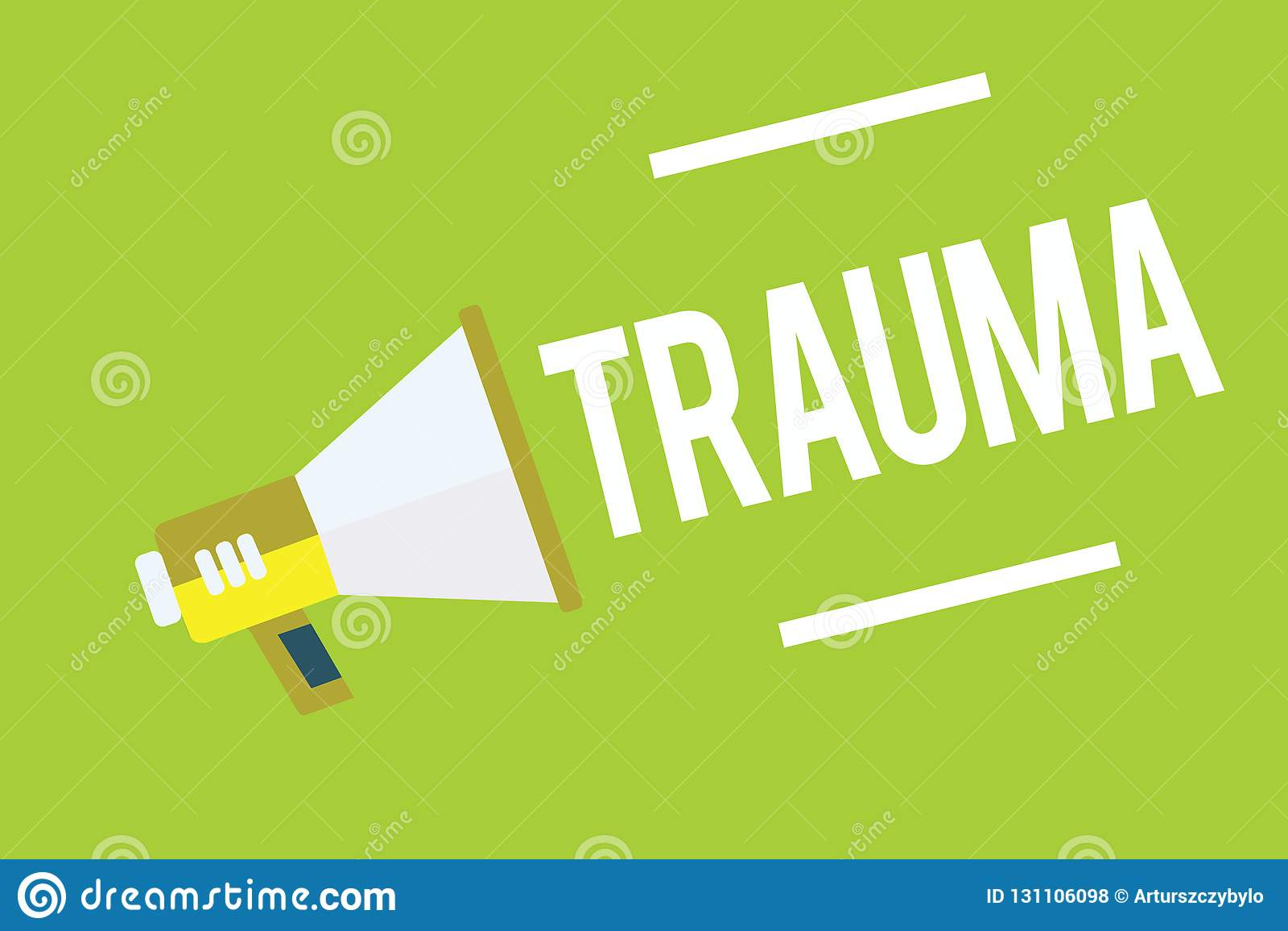 Scrittura concettuale della mano che mostra trauma Foto di affari che montra fisico medica profondamente d afflizione o preoccupa