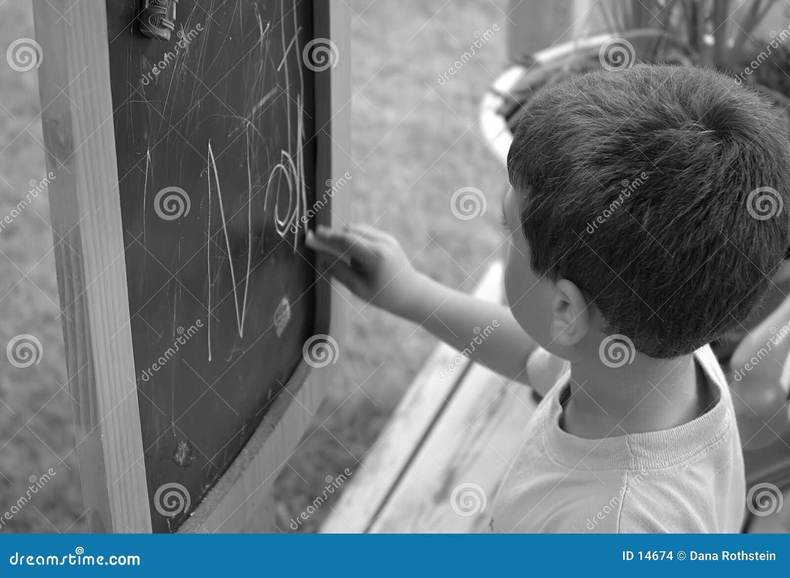 Scrittura del bambino