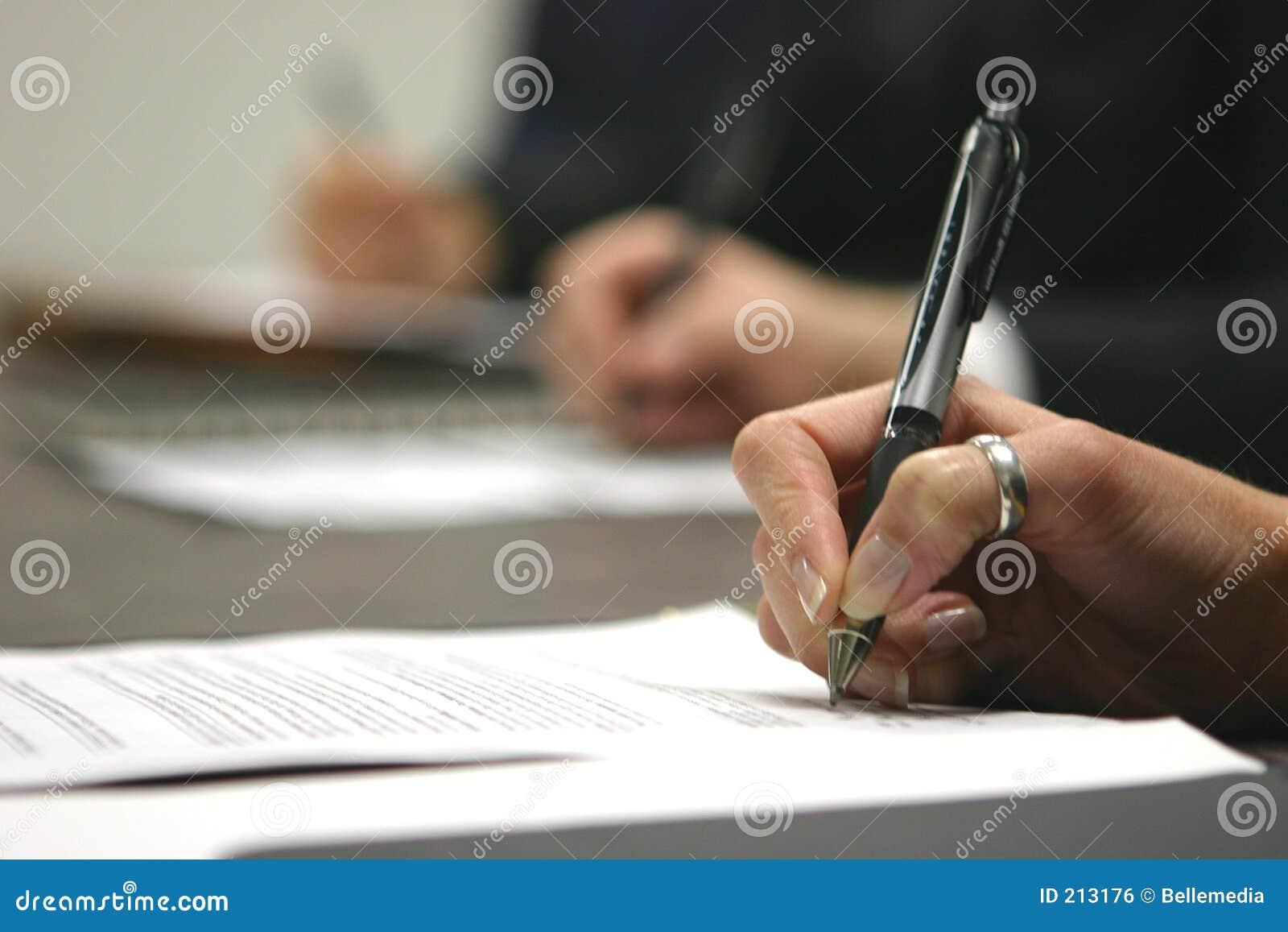 Scrittura di affari