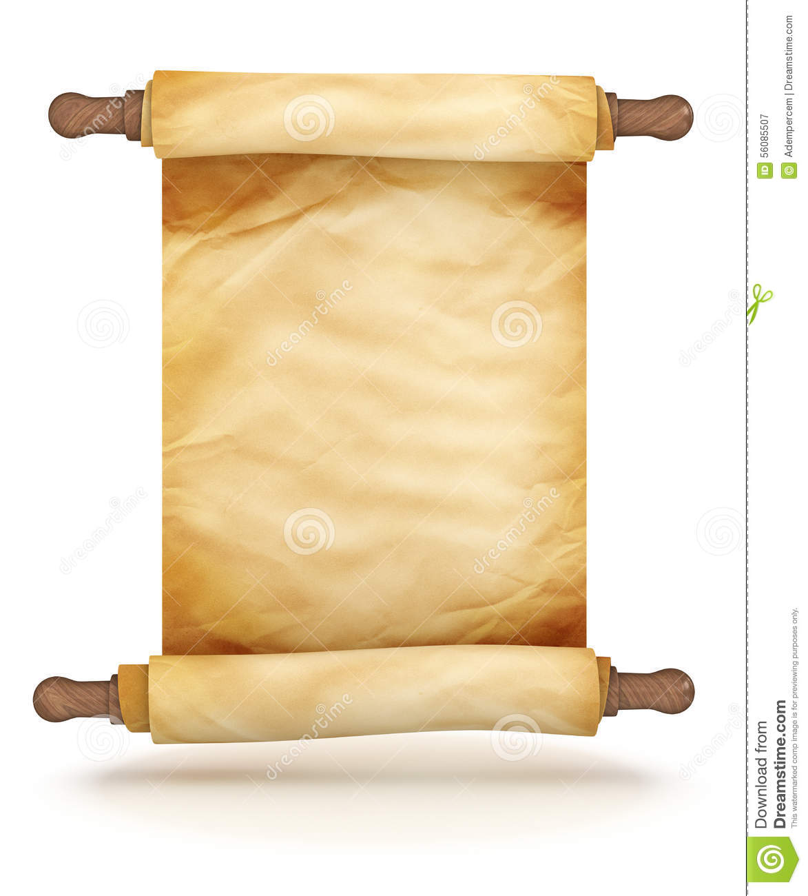 Old Fashioned Document Clipart