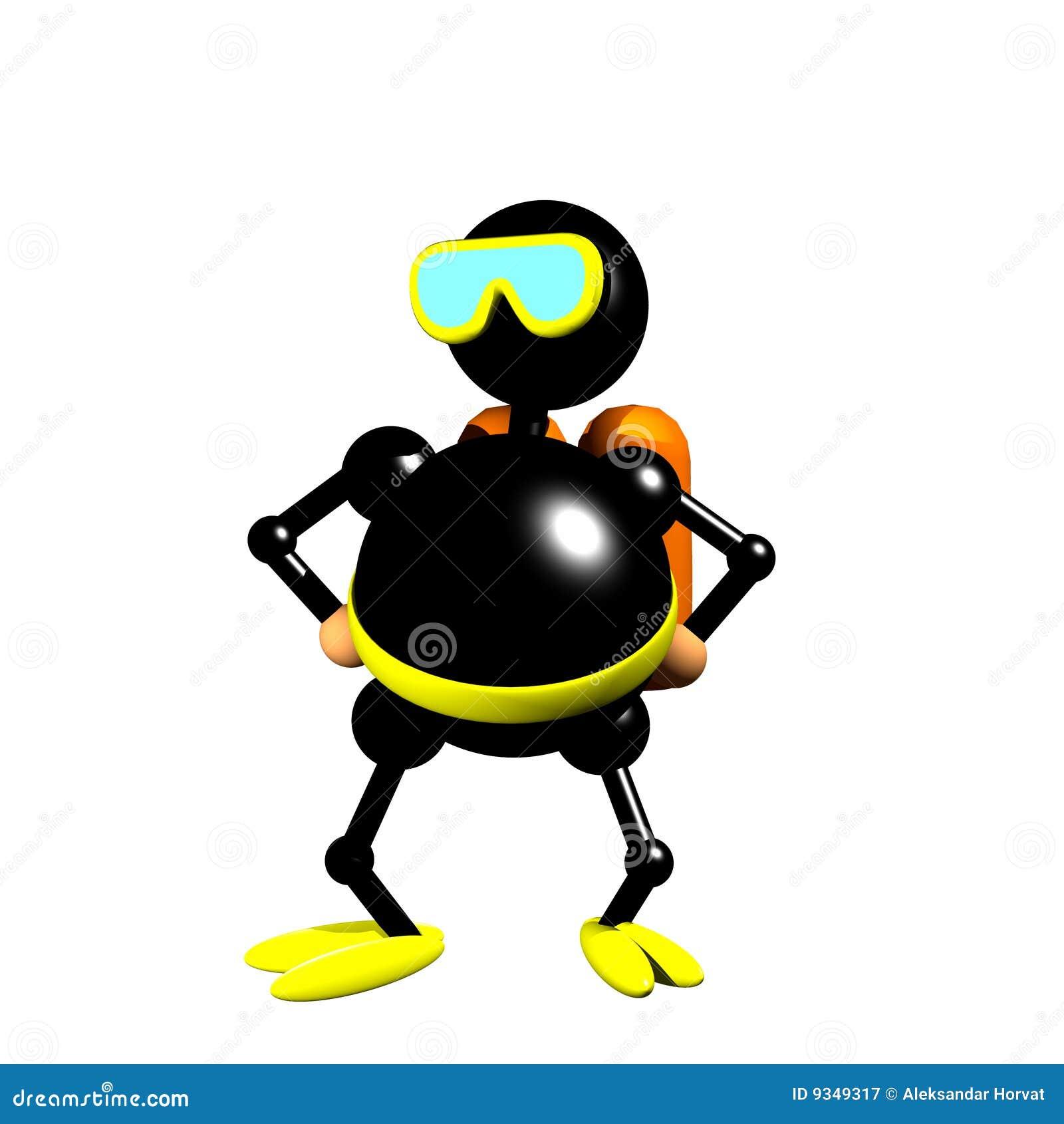 Scuba Diver Clipart Stock Photos, Images, & Pictures - 97 Images