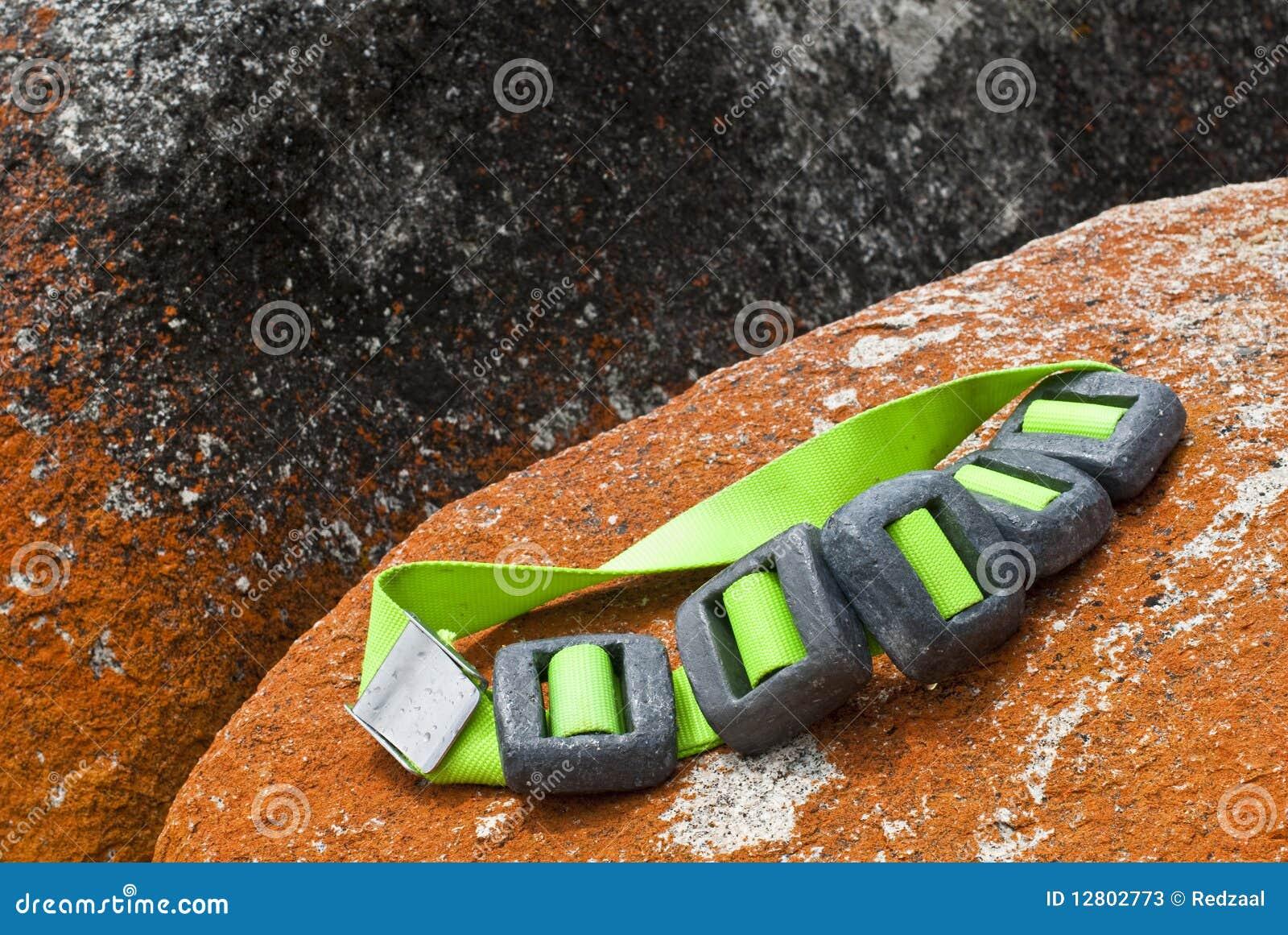 Scuba diver weight belt