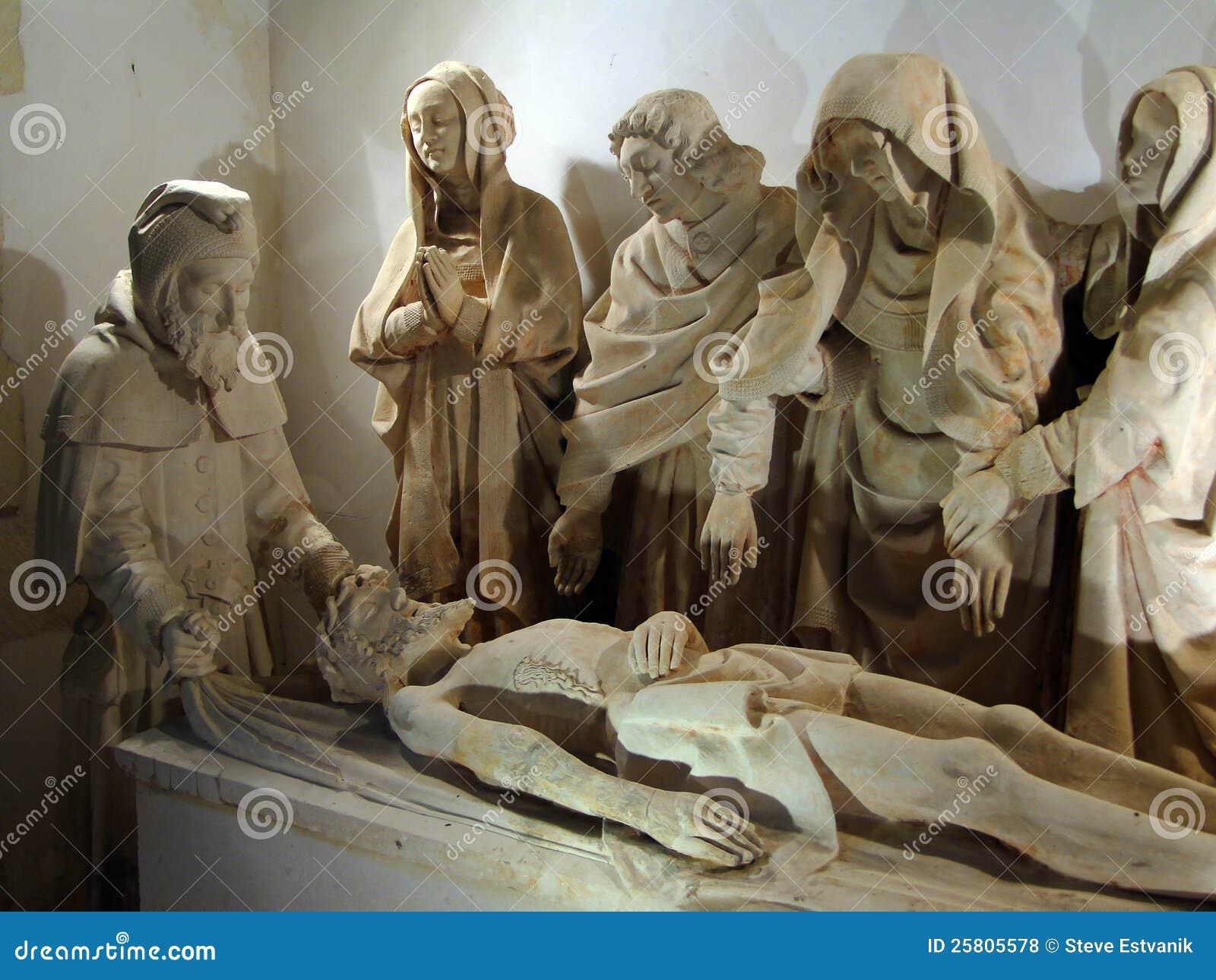 Sculpture Of Christ's ...