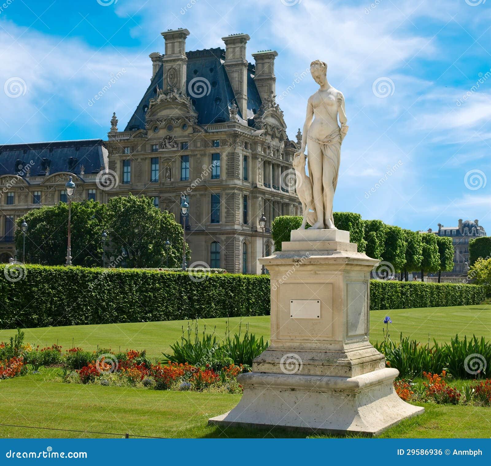 Sculpture des jardins de tuileries photo stock image for Jardins jardins des tuileries