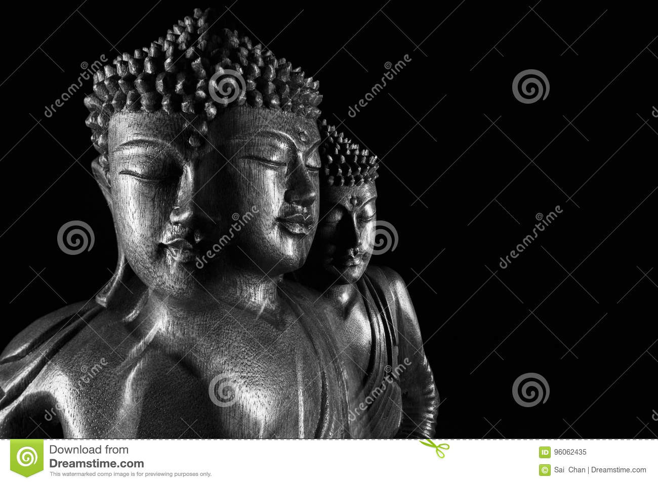Sculpture en Bouddha