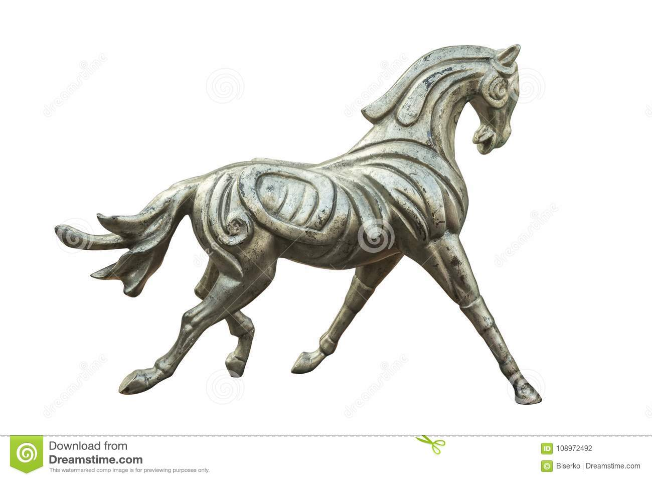 Sculpture of the horse